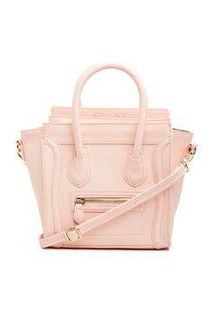 Structured Handbag in Blush
