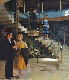 Inspiration Floating Terrazzo Stair- they knew how to do it right in Havana in the - Havana Riviera, Cuba Vintage Cuba, Vintage Glamour, Vintage Photos, Vintage Party, Cuban Architecture, Vintage Architecture, Cuba Culture, Our Man In Havana, Cuban Art