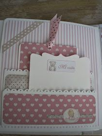En el desvan con Luxyxana: Album Scrap Bebe                                                                                                                                                      Más Scrapbook Bebe, Baby Scrapbook Pages, Mini Scrapbook Albums, Scrapbook Cards, Baby Mini Album, Baby Quiet Book, Mini Albums Scrap, Mini Books, Paper Crafts