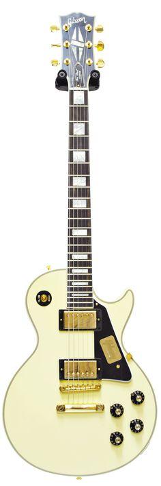 Gibson Custom Shop 1974 Les Paul Custom Classic Vintage White #CS501317 Main…