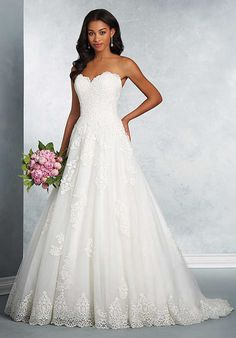 Alfred Angelo Signature Bridal Collection 2614 A-Line Wedding Dress