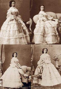 1860. Empress Elisabeth of Austria._ Photographer: Ludwig Angerer [15.08.1827 –…