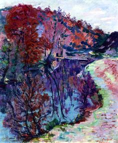 Armand Guillaumin, Banks of the Sedelle, Crozant  on ArtStack #armand-guillaumin #art
