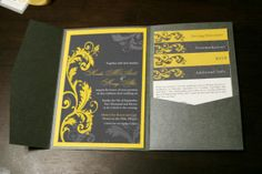 My inspiration for a DIY invitation. Pretty easy to make on Powerpoint for me and SO FREAKING GORGEOUS!!