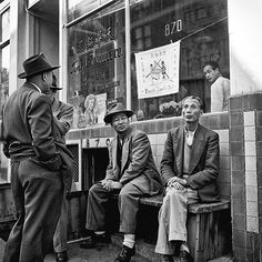 Chinatown 1948 | Fred Lyon: San Francisco Yesterday 1948–1958, A Photo Exhibition at San Francisco International Airport