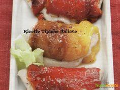 Ricette e videoricette per involtini peperoni tonno, ingredienti, dosi, tempi di cottura e consigli per la preparazione.