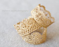 DIY Lace Crowns Tutorial. These sweet crowns are a fun and easy craft to make. To go to the tutorial click on the image.