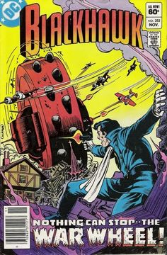 blackhawk comic books | Blackhawk #252 Vintage Comic Book Cover! Awesome!! That was featured ...