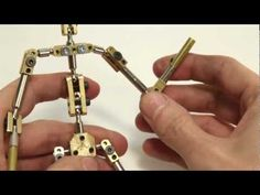 K2 - kinetic armatures stop motion skeleton unboxing - YouTube