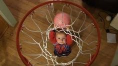 Two Years Old Titus Is Back With More Trick Shots - #cute #basketball