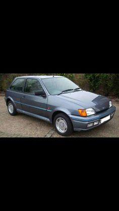 My first car. Fiesta XR2i