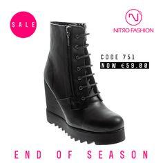 Shop powered by PrestaShop Fall Winter, Wedges, Seasons, Boots, Shopping, Fashion, Crotch Boots, Moda, La Mode