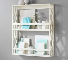 Decorator Book Rack | Pottery Barn Kids - only one level though