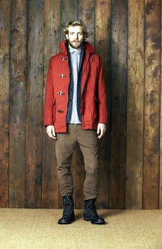 42 Comfy Winter Fashion Outfits for Men in 2015 Winter Mode Outfits, Winter Fashion Outfits, Rugged Style, Fashion Moda, Men's Fashion, Estilo Cool, Winter Stil, Fall Winter, Duffle Coat