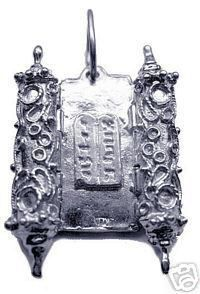 Jewish Pendant Charm Torah Star of david Silver 925 Sterling Silver 925 Jewelry