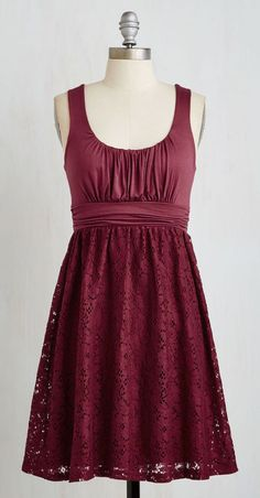 Artisan Iced Tea Dress in Raspberry
