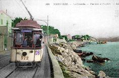 La Corniche en 1925 Visit France, Provence France, Rhone, Public Transport, Places To See, Adventure, Nice Travel, Pictures, Trips