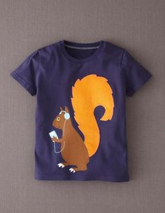 fd5d9813534085 Animal Antics T-shirt from Mini Boden. Great tee shirt for the little Alpha