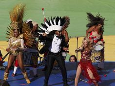 Mundial: Shakira y Santana encabezan la clausura de Brasil 2014 - Terra Perú
