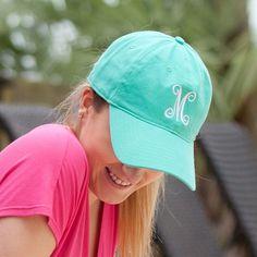 Monogram Hats - Mint