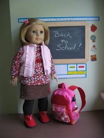 A Doll for all Seasons--a blog about make-your-own AG doll clothes/accessories