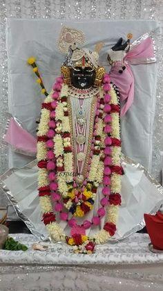 Shreenathji-White&pink