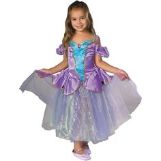 CHILD GIRLS MERMAID FANCY DRESS #FAIRY TALES COMPLETE OUTFIT ALL AGES