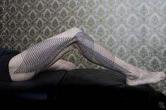 Geometric Line Tattoos By Chaim Machlev Elegantly Flow Across The Human Body | Bored Panda