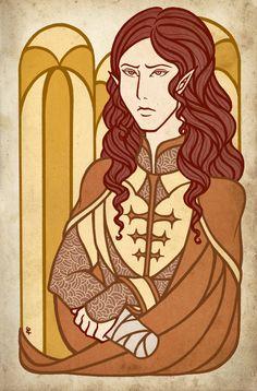 Maedhros the Tall by ~ilweran on deviantart