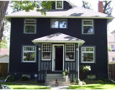 Navy blue is an awesome exterior #paint color!