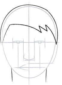 """Draw a Face 