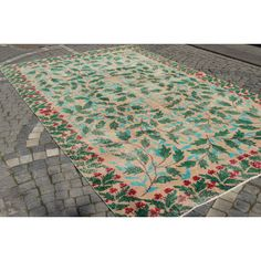 Turkish Low Pile Rug Handmade Wool Carpet Turkish Carpet   9.5 X 5.9... (3,000 CNY) ❤ liked on Polyvore featuring home, rugs, floor & rugs, grey, home & living, handmade wool area rugs, low pile area rug, handmade turkish rugs, hand made wool rugs and hand made rugs