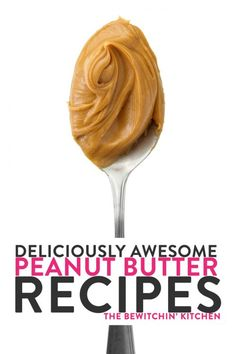 Deliciously awesome peanut butter recipes to conquer your cravings and get you through the day with both sweet and savory peanut butter recipes. Best Dessert Recipes, Great Recipes, Snack Recipes, Tasty Snacks, Cooking Recipes, Yummy Food, Favorite Recipes, Healthy Recipes, Delicious Dishes