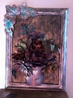 Tokreen blomstuk - Hazel Mulder