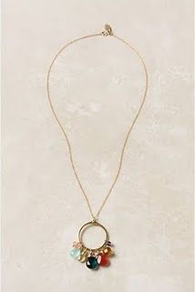 Anthropologie necklace knock off