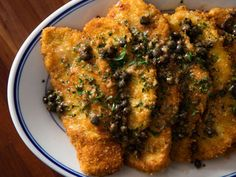 Chicken Piccata (Fried Chicken Cutlets With Lemon-Butter Pan Sauce)