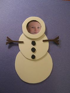 Almost Unschoolers: Simple Snowman, Picture Frame, Chirstmas Ornaments