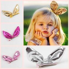 2016 Cheap High Quality Girl Hairpin Bunny Ear Children Headpin Bow Hairpins Bobby Pin Barrette Clip Accessories 10psFrom Greataccessories, $10.48 | Dhgate.Com