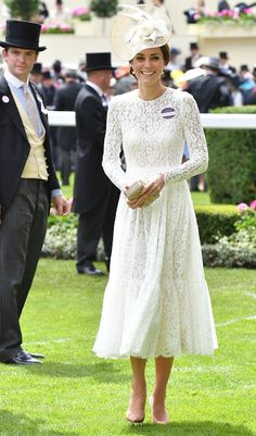 Duchess Catherine and Prince William at Royal Ascot 2016