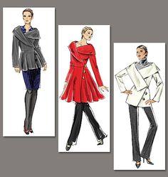 Vogue 8465 : patron de veste et manteau