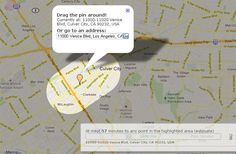 Mapnificient tells exactly where you can go using public transportation in a given time