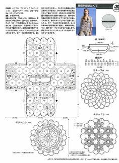 Rhianna, detalle para bolsillos. Crochetpedia