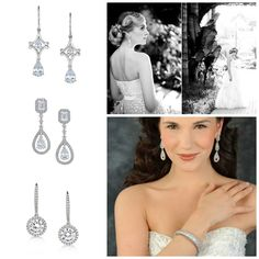 The finishing touch? Or an accessory that is just as important as the dress? Yes, your mind will be full of details and concerns that you might miss something. Have you thought about earrings? #chandelierearrings #bridalearings #weddings #sshsecrets