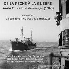 Exposition : De la pêche à la guerre : Anita Conti et le déminage (1940) - LORIENT - détail: fêtes et manifestations