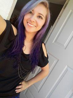 Purple lavender hair  :)