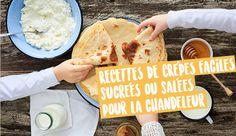 Recette crêpe - les recettes de crêpes salées et sucrées | Croquons La Vie - Nestlé