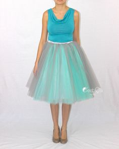 A personal favorite from my Etsy shop https://www.etsy.com/listing/242326721/ciara-ombre-tulle-skirt-in-dove-gray