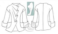 well-suited: Pattern Puzzle - Soft Pleat Jacket