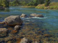 I saw a show of Clyde Aspevig's work at Museum of the Rockies in Bozeman several years ago. He is an amazing artist.