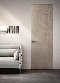 Benefits that you could derive by using the interior wood doors for your home or office. Contemporary Internal Doors, Solid Oak Internal Doors, Door Design Interior, Interior Exterior, Exterior Doors, Invisible Doors, Porte Design, Prehung Interior Doors, Indoor Doors